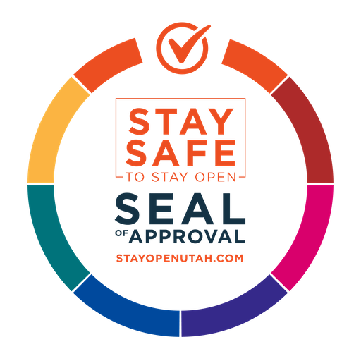 Stay Safe Stay open logo